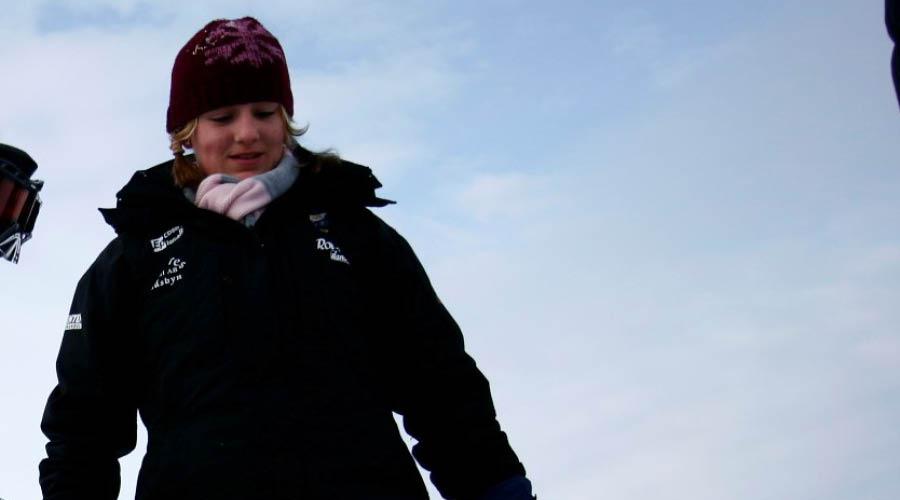 På bilden: Johanna på läger med Min Stora Dag
