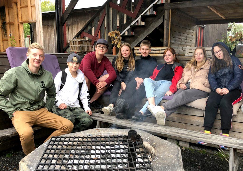 Deltagare på äventyrsläget på Höga Kusten 2020