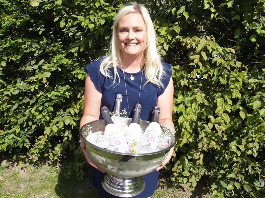 Isabell Wiking är bröllopskoordinator